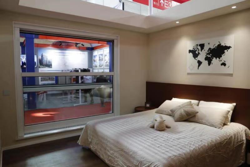 万博体育manbetx3.0垂直滑动窗惊艳中国住博会